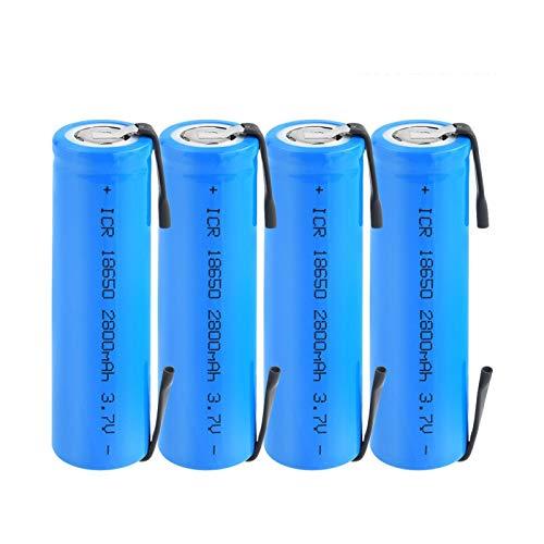 HTRN BateríAs De Litio De Dc-12680 6800mah 12v, Batería Recargable para El Banco Remoto del Poder