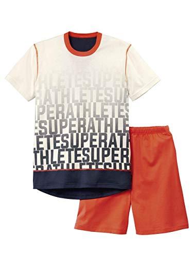CALIDA Boys Athlete Jungen Kurz-Pyjama Jungen