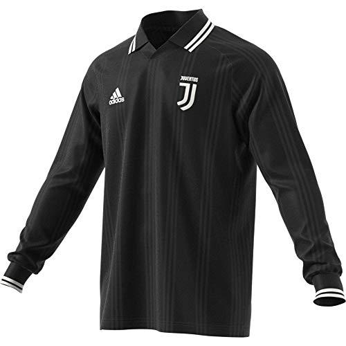 adidas Performance Juventus Turin Icons Longsleeve Herren schwarz/weiß, L
