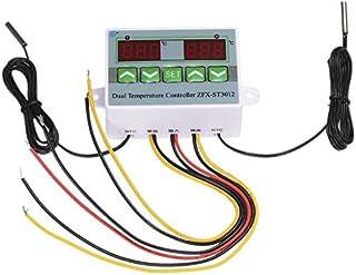 ZHITING Regulador de temperatura digital inteligente para microordenador con doble pantalla Zfx-St3012 220 V/120 W termost...