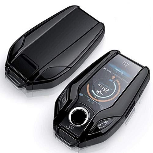MDHANBK Car Fully Key Case LED Display Key Cover Case,For BMW 5 7 series G11 G12 G30 G31 G32 i8 I12 I15 G01 X3 G02 X4 G05 X5 G07 X7