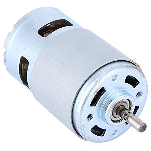 Eje de rodamiento de bolas de motor de CC de 4000 RPM de bajo ruido 775 de alta potencia para máquinas de cortina para dispositivos inteligentes