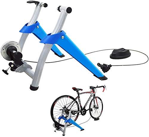 FDSAG Magnético De Ciclismo Rodillo Entrenamiento Bicicleta Acero Plegable Ejercicio de la Bici Trainer Entrenar En Casa Entrenamiento De Ciclismo Interior: Amazon.es: Deportes y aire libre