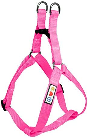 Pawtitas Solid Color Step in Dog Harness or Vest Harness Dog Training Walking of Your Puppy product image
