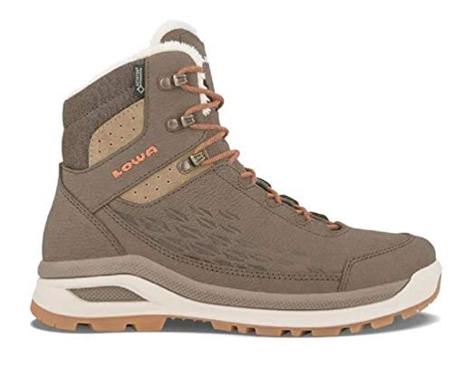 Lowa Women's Locarno Ice GTX Mid Winter Boot Taupe (9)
