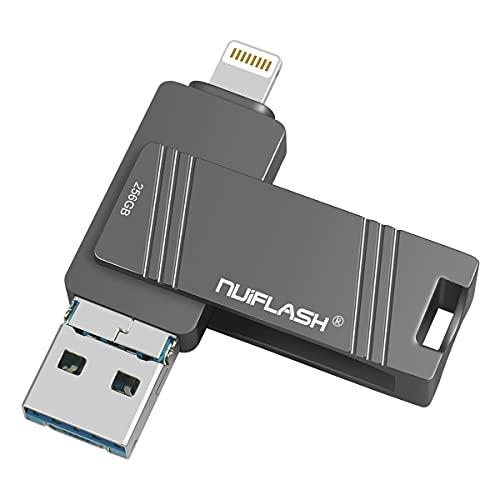 USB Flash Drive 256gb USB-Stick 256GB für Thumb-Laufwerke mit Memory Stick für Computer Photo Stick für iPhone /MacBook PC Laptop