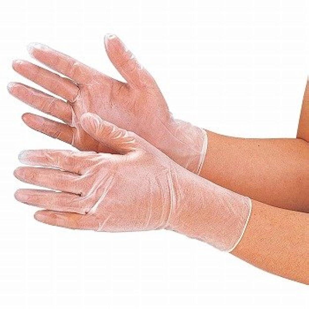 スポンサーガチョウショートカットおたふく手袋/抗菌プラスチックディスポ手袋 100枚入×12セット[総数1200枚]/品番:250 サイズ:M