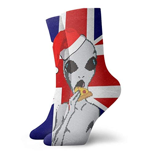 huatongxin British Flag Adult Calcetines Cotton Gym Short Calcetines For Yoga Hiking Cycling Running Soccer Sports