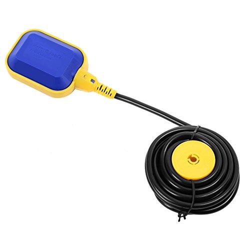 Schwimmschalter Pumpe Wasserstandregler für Aquarium Flüssigkeit Öl Schwimmbecken Bottle Trocken mit Kabel 10 m 250 V