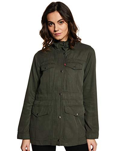 Levi's Women's Jacket (16472-0000_Green_S)