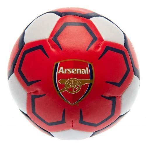 Arsenal F.C. Baby Team Merchandise - Miniball morbido, 10,2 cm, colore: Rosso