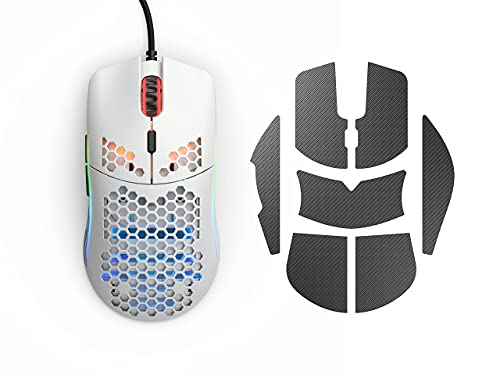 Glorious Model O Gaming Mouse (Matte White) + Glorious Gaming Mouse Grip Tape (Model O) (Limited Time Bundle)