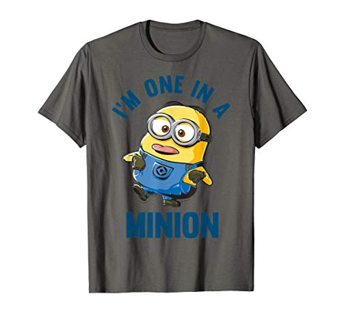 Despicable Me I'm One In A Minion Doofy Sketch T-Shirt