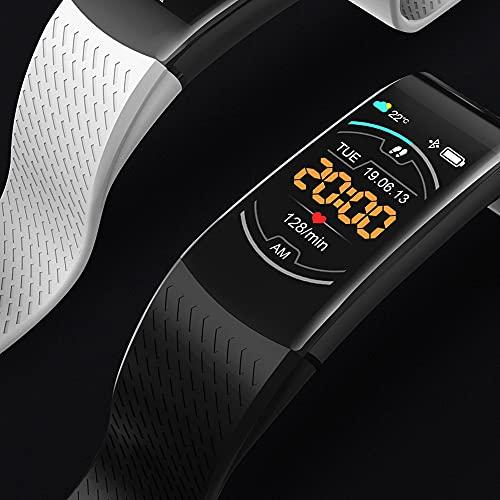 EMPERSTAR Smart Watch Fitness Activity Tracker con Ritmo Cardíaco Presión Arterial Detección De Sueño Pulsera Deportiva Inteligente 1.08In Pantalla,Azul