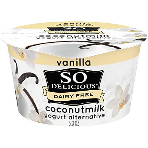 So Delicious Dairy Free Coconut Milk Yogurt Alternative, Vanilla, Vegan, Non-GMO Project Verified,...