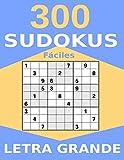 300 Sudokus Fáciles Letra Grande: Libro de Sudokus con Soluciones - Tamaño Grande con 1 Sudoku por Página - Perfecto para Gente Mayor - Números y ... Árbol, Perro, Barco, Flor, Coche y Gato