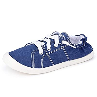 Sowift Women's Fashion Low Top Canvas Sneaker ...