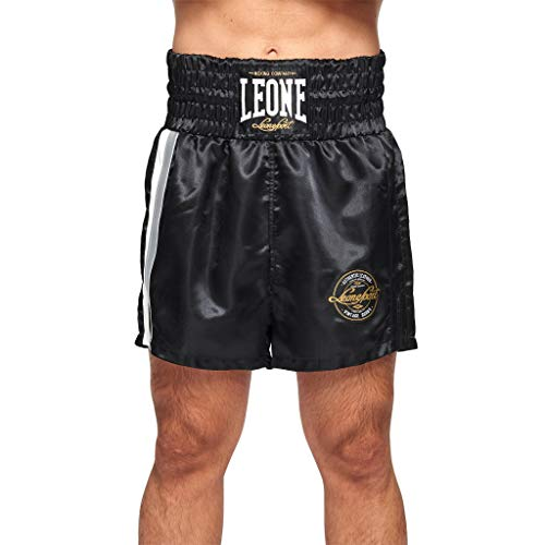 LEONE 1947 Authentic, Boxershorts AUTHENTC Unisex Erwachsene, Schwarz, S/M