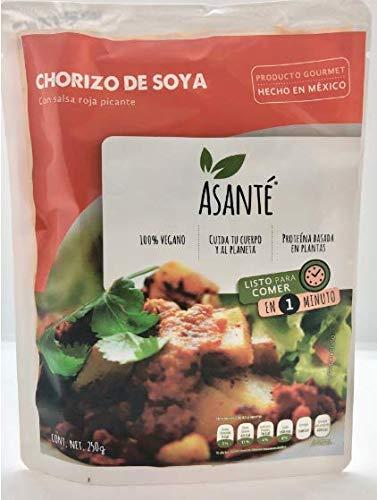Asante CHORIZO DE SOYA 250g