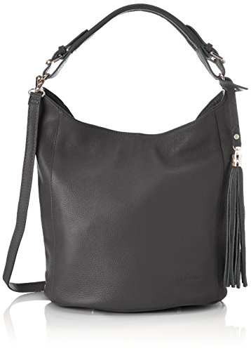 Bags4Less Damen Zara Schultertasche, Grau (Dunkelgrau), 21x30x40 cm