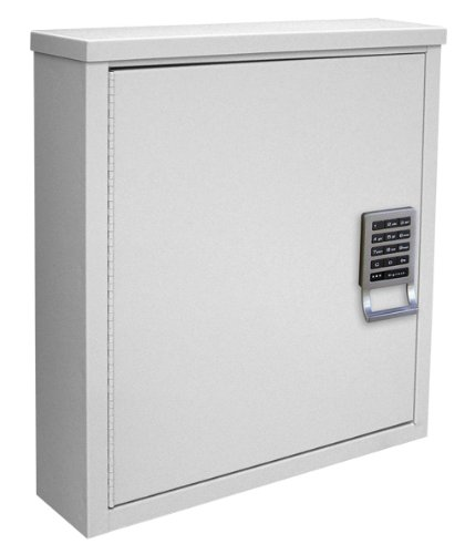 Review Of Omnimed 291600-LG Patient Security Cabinet with Programmable E-Lock, 4/Shallow, Light Gre...