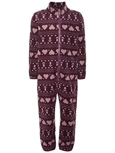 NAME IT Baby Fleece Overall Schneeanzug NMM SPEKTRA 13154097 Prune Purple Gr.92