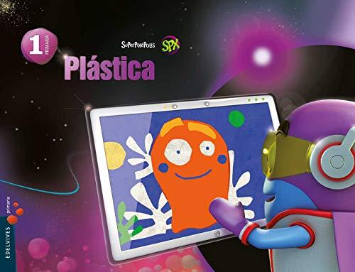 Plástica 1º Primaria (Superpixépolis) - 9788426393074