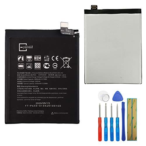 Para OnePlus 3T A3003, batería de repuesto BLP633, 3300 mAh, 3,85 V, batería integrada + herramientas