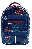 PSG Sac à Dos Scolaire - 2 Compartiments - Collection Officielle Paris Saint Germain