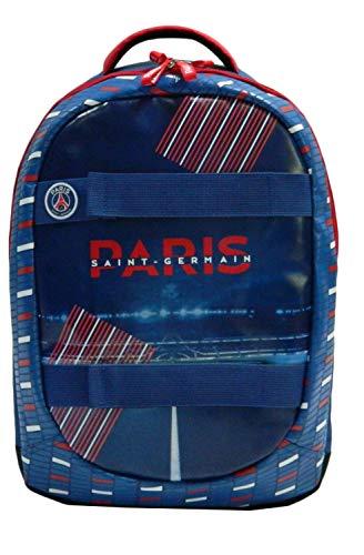 PSG Hat 2Rucksack 2Fächer Paris SG Unisex Kinder, Blau