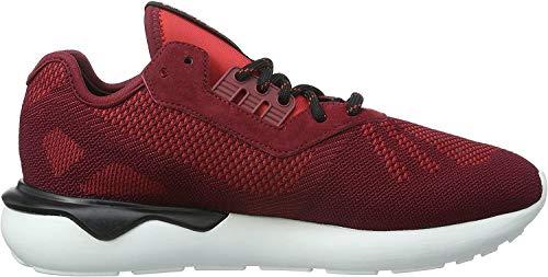adidas Herren Tubular Runner Weave Laufschuhe, Rot (Collegiate Burgundy/Collegiate Burgundy/Core Black), 42 2/3 EU