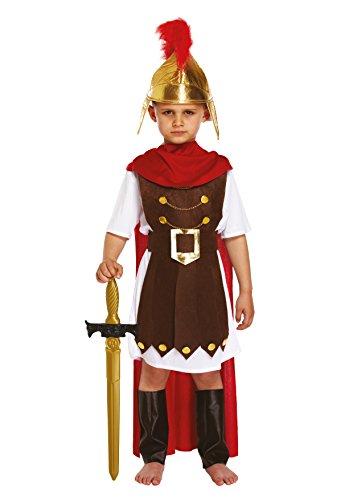 Legs Galore Disfraz de Soldado Romano y Sombrero de Tela para niños Lrg de 10 a 12 años