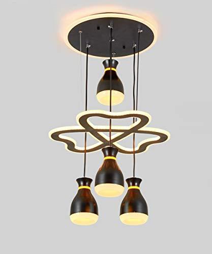 Comedor LED Lampara Colgante mesa colgando Colgante de Luz regulable con Modern...