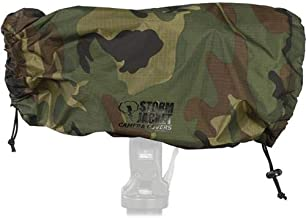"""Vortex Media Pro Storm Jacket Cover for an SLR Camera with a Extra Large (XL) Lens Measuring 14"""" to 27"""" from Rear of Body to Front of Lens, Color: Camo"""