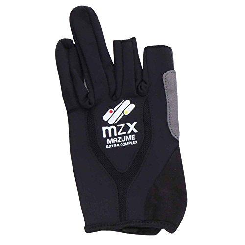 MAZUME(マズメ) グローブ MZX ライトグローブ(3C) MZXGLS026-02 ブラック/ブラック L
