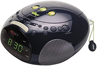 Sony ICF-CD831 PSYC Clock Radio/CD Player (Blue) (Discontinued by Manufacturer)