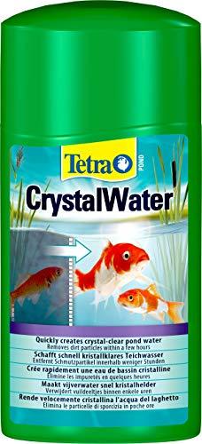 Tetra Pond CrystalWater (für kristallklares Wasser im Gartenteich, Wasserklärer gegen Trübungen), 1 Liter Flasche