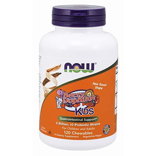 NOW Supplements, BerryDophilus with 2 Billion, 10 Probiotic...
