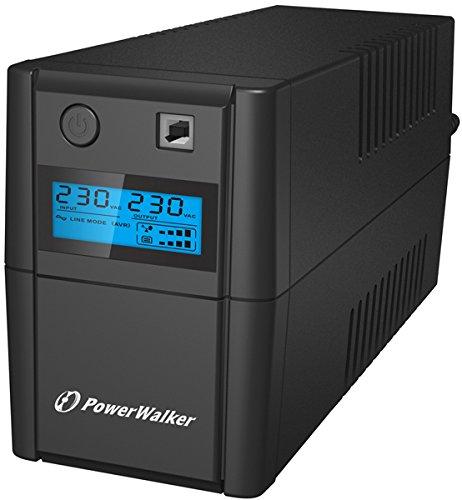 Powerwalker VI 850 Shl Schuko 850VA/ 480W Line-Interactive USV Tower AVR Hid LCD