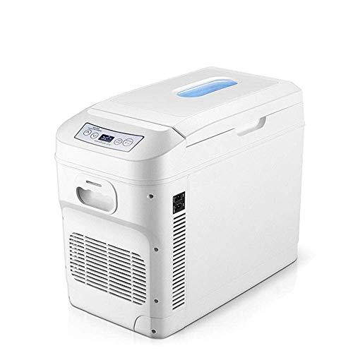 Mini Refrigerador, Refrigerador Portátil 28L, Refrigerador Pequeño Para Automóvil, Congelador Compacto, Refrigeración Y Calefacción, Ca / Cc (12 V / 24 V / 110 ~ 240 V), Panel Lcd Digital, Silencio,