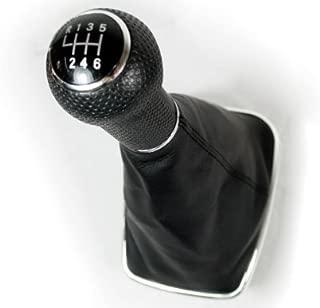 6 Speed Chrome Gear Shift Knob 1pcs Shift Knob Gaitor For 99-2005 VW Mk4 Golf/GTI/R32 1999-2004 Mk4 Jetta / Bora 1999 2000 2001 2002 2003 2004 2005