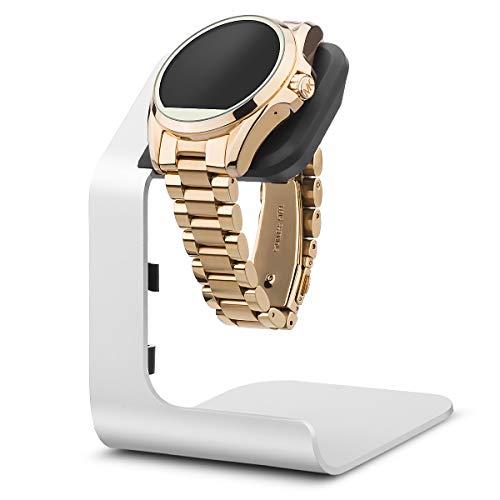 Tranesca Aluminium-Uhrenständer für mehrere Marken Smartwatches – nur Ständer (kompatibel mit Michael Kors, Armani, Diesel, Fossil und mehr, ein Muss für Smartwatch-Zubehör).
