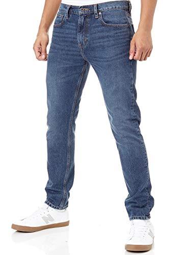 Levi's Vaqueros Levis Skateboarding 512™ Slim 5 Pocket Bush (32 Cintura X 32 = EU 48, Azul)
