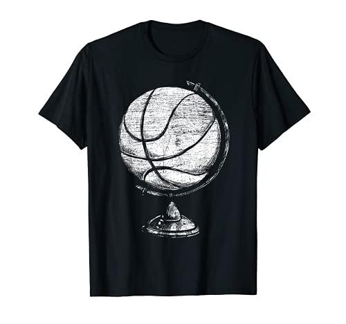 Die Welt ist ein Basketball T-Shirt