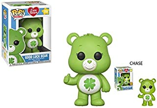 Funko POP! Animation: Care Bears Good Luck Bear (Styles May Vary) Collectible Figure, Multicolor
