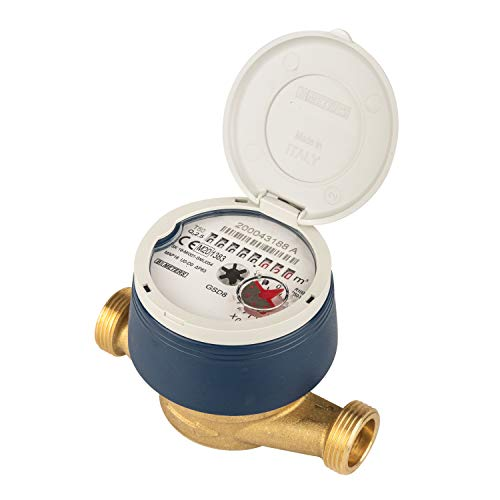 Preisvergleich Produktbild Wasserzähler 110 mm neu und geeicht mit UV Schutzhaube