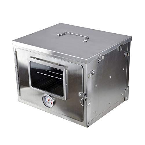 Winnerwell Fastfold-Ofen   Tragbarer Lagerofen für Holzöfen und Lageröfen Lebensmittelqualität Edelstahl   Falten flach für kompakte Lagerung