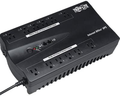 TRIPP LITE internet office 12-outlet 900va 480w compact ups USB w/tel/dsl protection