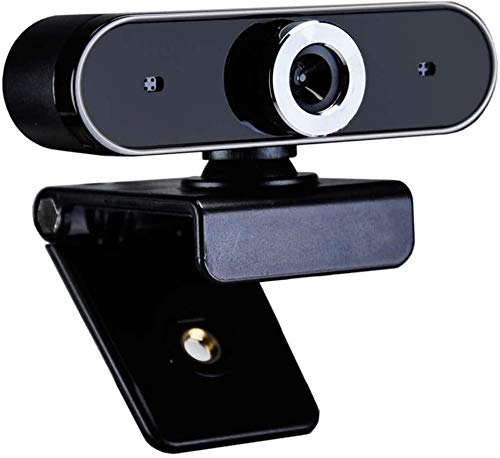 Webcam 12MP Web Camera met microfoons Plug and Play Draaibaar Camera for Live Broadcast Video Meeting