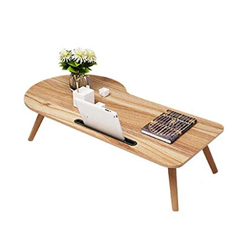Mesas auxiliares Mesa para portátil Mesa de estación de trabajo Mini escritorio Escritorio para dormitorio Soporte para dormitorio Aspecto de madera Muebles decorativos Montaje fácil Roble rústico